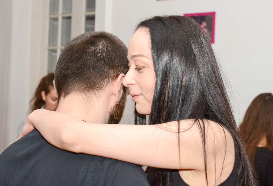 Monica - cursant la scoala de dans con Sabor